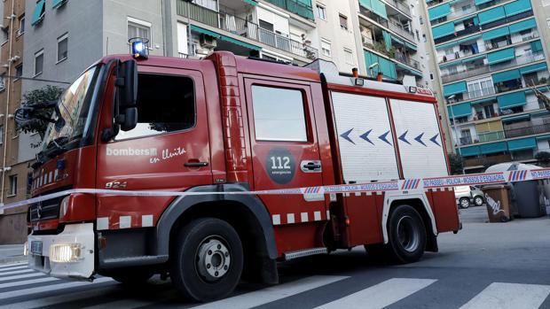 Un coche de bomberos en una imagen reciente