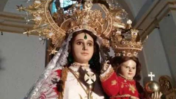 Imagen de la Virgen de Rus