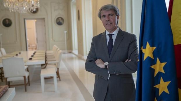 Ángel Garrido, tras su entrevista con ABC