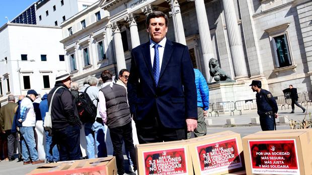 Juan Carlos Quer, ante el Congreso de los Diputados