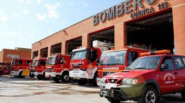 Parque de bomberos de Cuenca