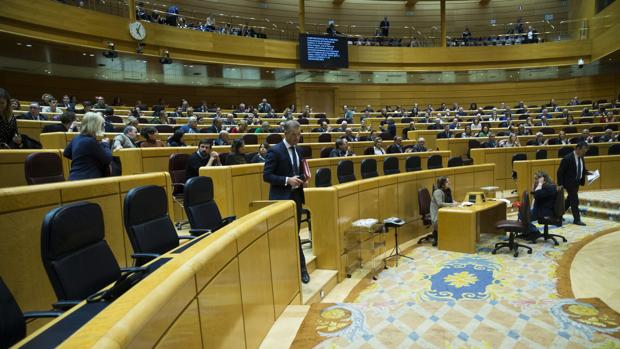 Pleno en el Senado, en una imagen de archivo