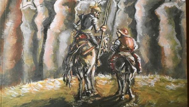Ilustración del portada del poemario «Volverás a la tierra»
