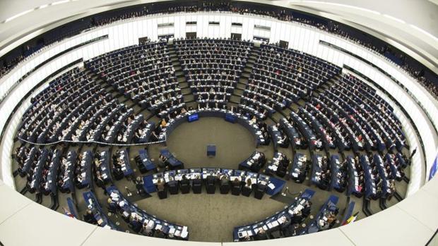 El Parlamento Europeo en su sede de Estrasburgo