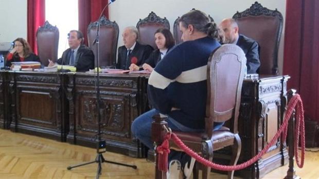 El acusado durante el juicio en la Audiencia de Toledo