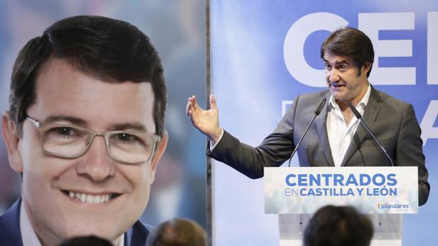 Juan Carlos Suárez-Quiñones, cabeza de lista del PP a las Cortes por León