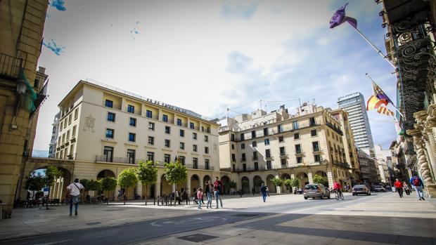 Imagend e archivo de la Audiencia de Alicante