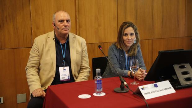Los doctores Luis Ángel Prieto y Mária José Castillo Mora