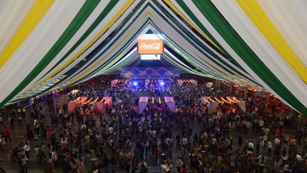 Recinto de Wizink Center durante la Feria de Abril de 2017