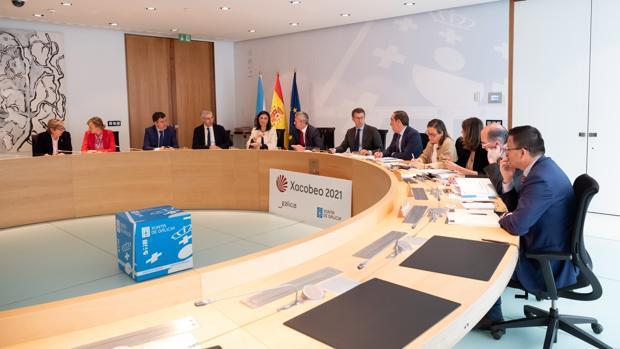 Reunión semanal del Gobierno gallego