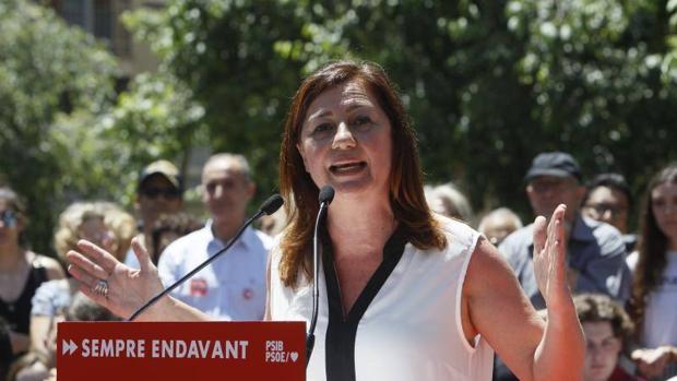 Francina Armengol, candidata a la presidencia de Baleares
