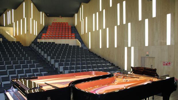 Una de las salas del Auditori Teulada Moraira