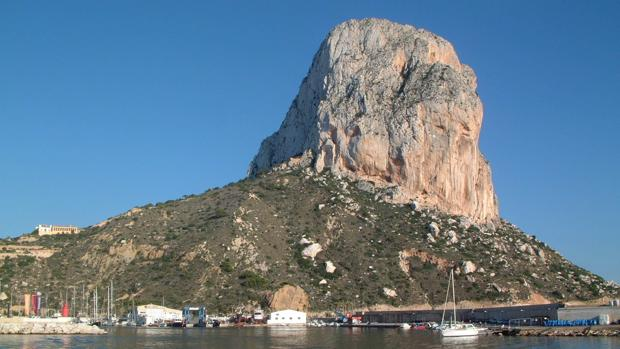 Peñón de Ifach, en Calpe (Alicante)
