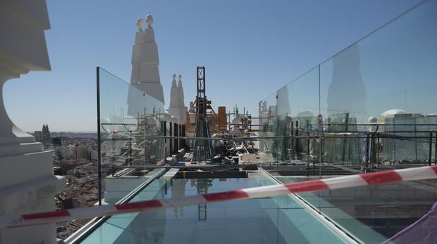 El Renacer Del Primer Rascacielos De Madrid Abc Se Adentra En Las Obras Del Edificio España
