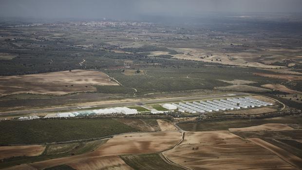 Aérodromo de Casarrubios, donde se instalará el segundo aeropuerto de Madrid