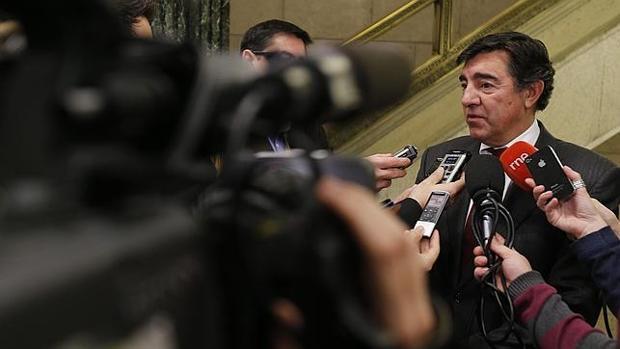 El portavoz provisional del PP, José Antono Bermúdez de Castro