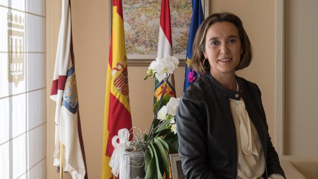 Cuca Gamarra, alcaldesa de Logroño hasta el sábado pasado, ha sido la coordinadora de la campaña de las elecciones municipales del PP