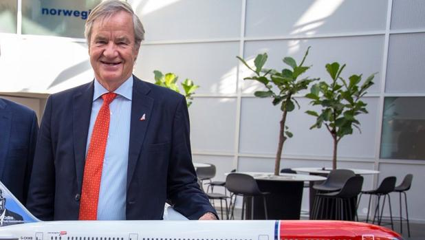 Bjørn Kjos, consejero delegado de Norwegian Air Shuttle