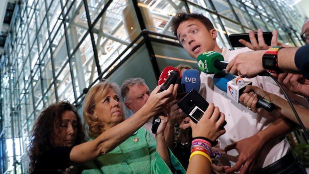 Errejón, en la Asamblea de Madrid