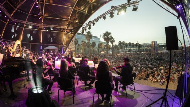 OBC en la playa: la música se tumba al fresco