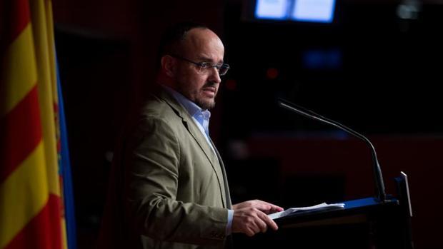 Alejandro Fernández, presidente del PP en Cataluña