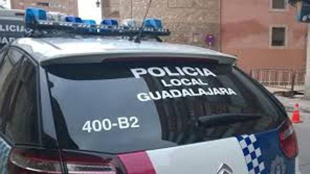 Vehículo de la Policía Local de Guadalajara