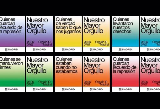 Orgullo Gay 2019 El Ayuntamiento Modifica Las Banderolas De