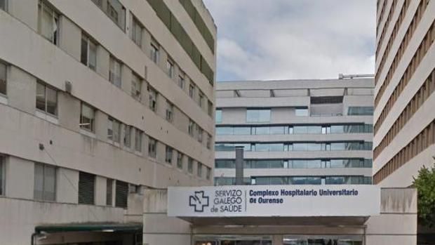 Exteriores del complejo hospitalario orensano