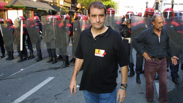 Josu Ternera, fotografiado en 2002