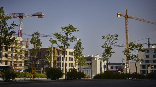 Obra nueva en el desarrollo urbanístico de El Cañaveral