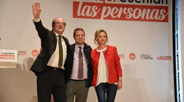 Gabilondo, Page y Silvia Fernández