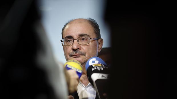 Javier Lambán, líder del PSOE aragonés y aspirante a repetir al frente del Gobierno regional