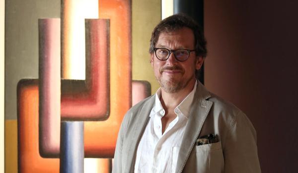 Michel Draguet posa para ABC en el Museo Colección Roberto Polo de Toledo