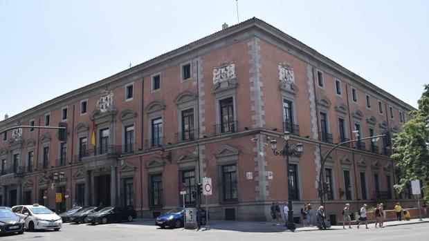 Fachada exterior de Palacio del Duque de Uceda