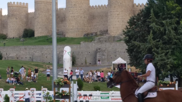 Imagen del último Concurso Hípico Ciudad de Ávila, en 2018