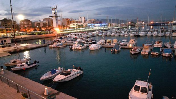 Puerto de Castellón, en la zona donde fue hallado el cadáver este lunes