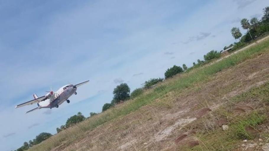 Herido uno de los dos ocupantes de una avioneta tras un aterrizaje forzoso en Villarrubia de Santiago