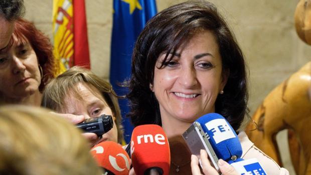 Concha Andreu, candidata del PSOE para gobernar en La Rioja