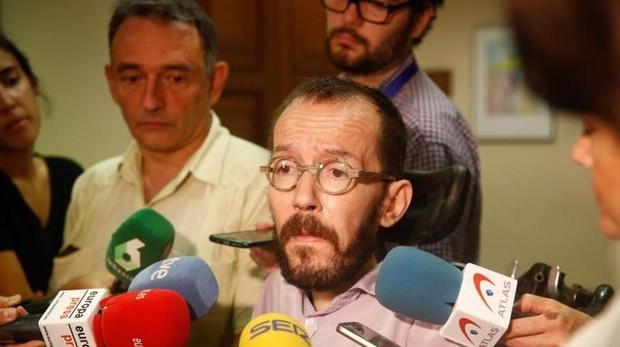 Pablo Echenique, secretario de Acción de Gobierno de Unidas Podemos