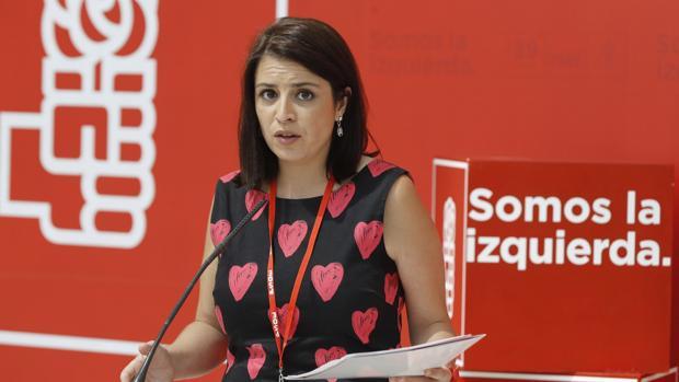 Adriana Lastra, dirigente de
