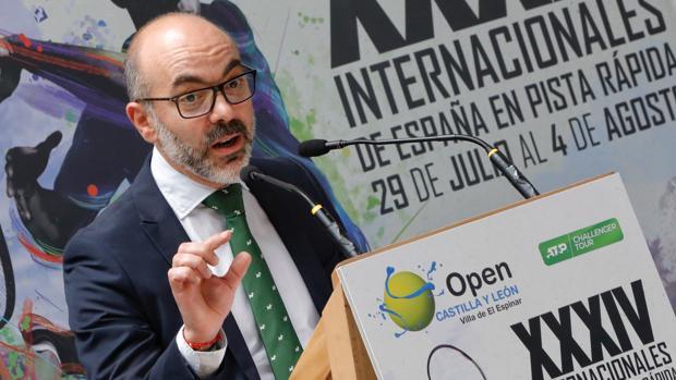 Javier Ortega, consejero de Cultura y Turismo