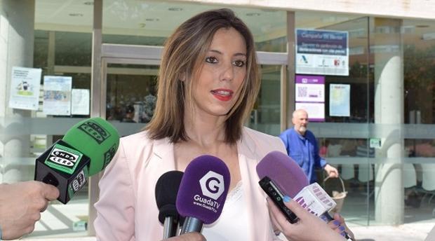 Lucía de Luz, concejala de Hacienda en Guadalajara