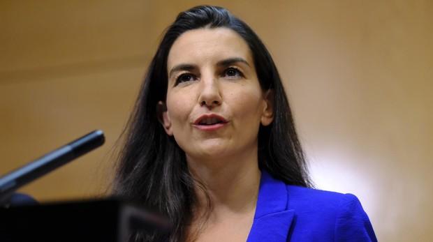 La presidenta de Vox en la Comunidad de Madrid, Rocío Monasterio