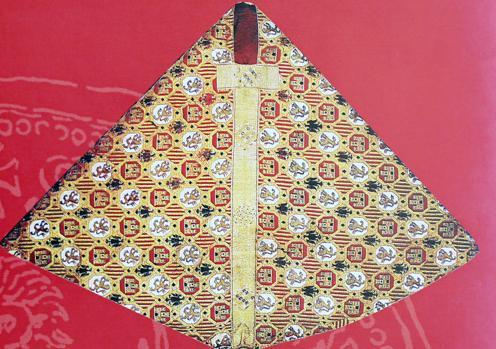 Capa del infante don Sancho, hijo del Alfonso X (Catdral de Toledo)