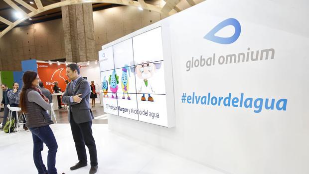 Imagen de archivo de un stand de Global Omnium