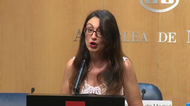 Sol Sánchez, portavoz adjunta de Unidas Podemos