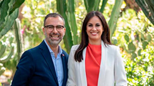 Mariano Cejas y Espino Ramírez en la campaña de las autonómicas de 2019