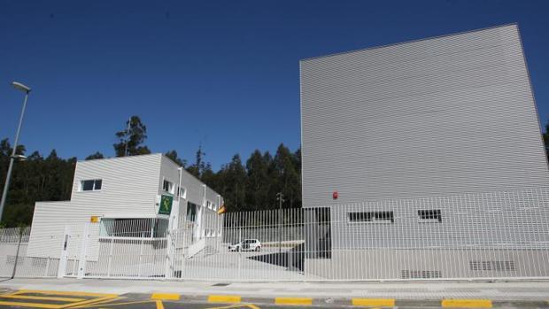 Cuartel de la Guardia Civil en el municipio gallego de Milladoiro