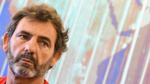 El fundador de la ONG española Proactiva Open Arms
