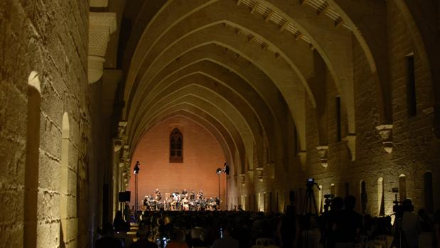 Un concierto de la edición anterior